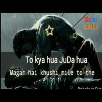 To Kya Hua Juda Huye Magar Hai Khushi Mile Pagalworld Banner