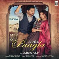 Paagla - Akhil ft. Avneet Kaur Banner