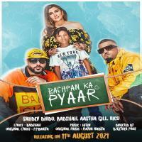 Bachpan Ka Pyaar - Sahdev, Badshah, Aastha Gill, Rico Banner